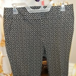 Loft Julie skinny spandex dress pants sz 4 exc.